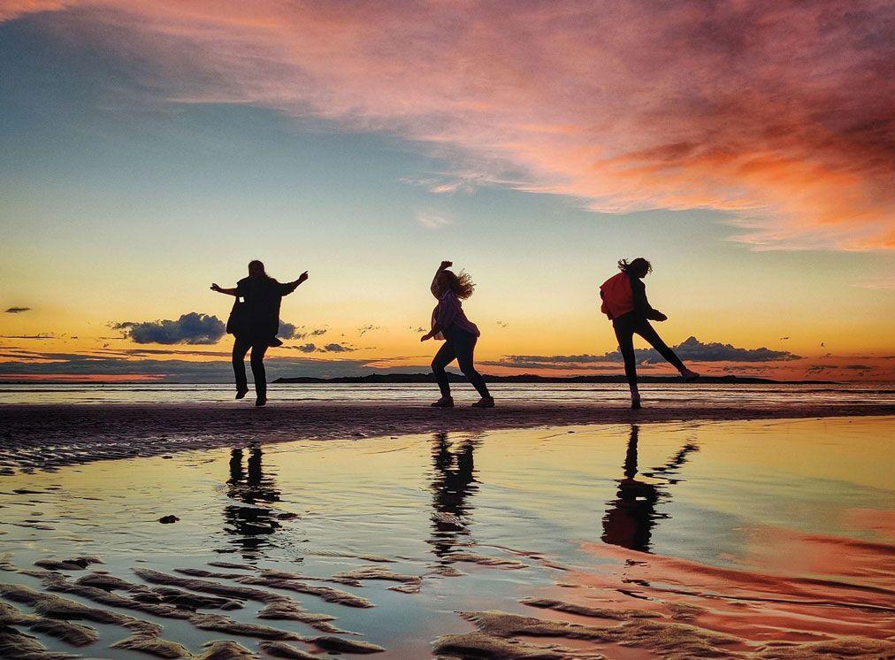 Solnedgang. Copyright: Jes Troelsen